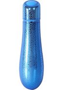 Powerbullet Rain 7 Function Textured Bullet - Blue