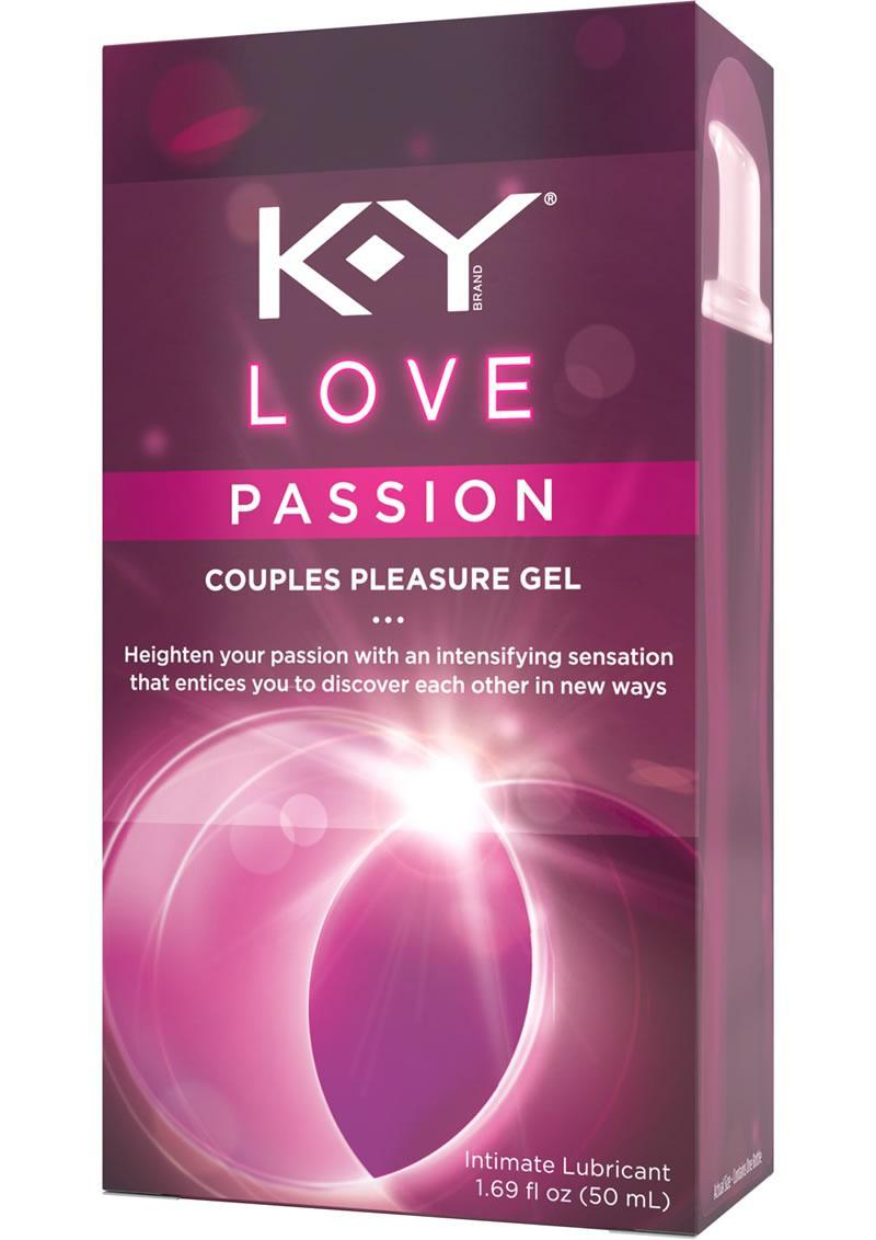 K-y Love Passion Couples Lubricant